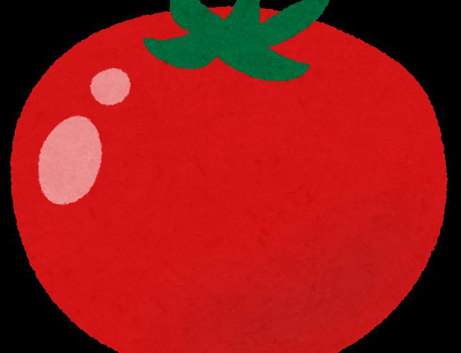 トマトを洗剤で洗う