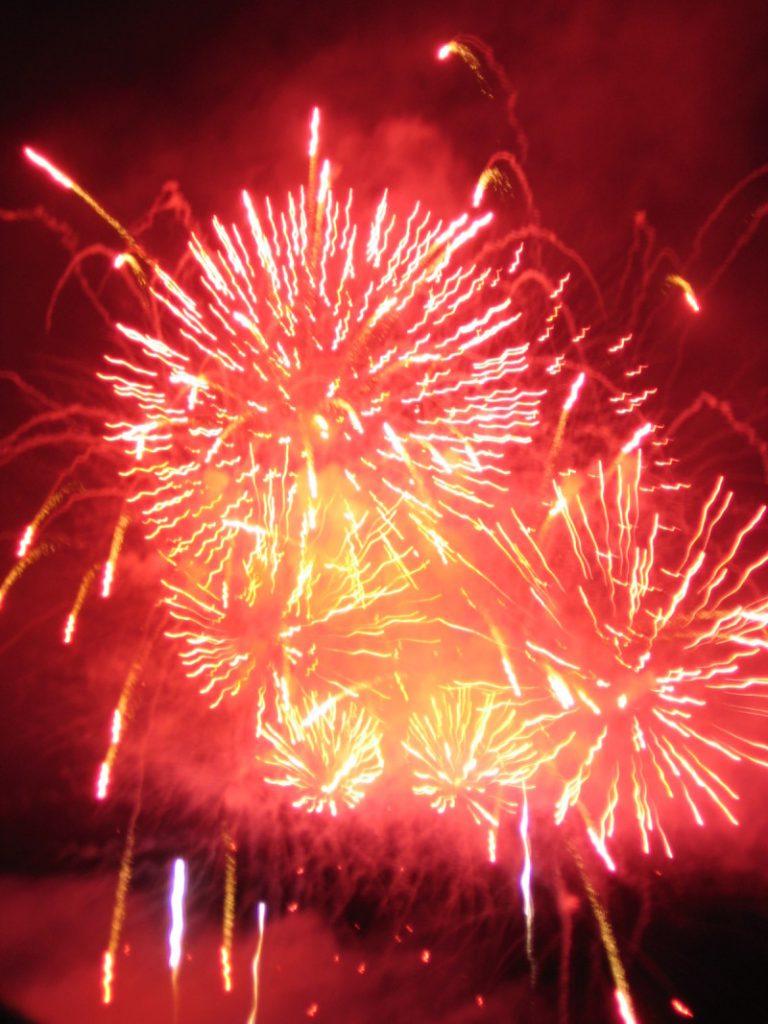 バンクーバーの花火大会