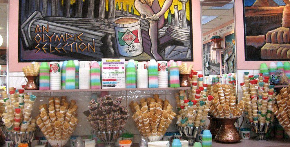 世界一アイスクリームのフレーバー数が多い店