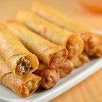 セブ島留学中に食べておきたいフィリピン料理:ルンピア(Lumpiang)
