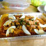 セブ島留学中に食べておきたいフィリピン料理:パラボク(Palabok)