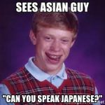 Can you speak Japaneseは失礼?
